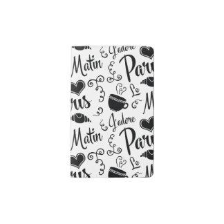 Amo París por la mañana Cuaderno De Bolsillo Moleskine