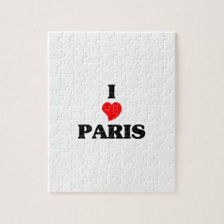 Amo París Rompecabeza