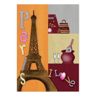 Amo París Tarjetas Personales