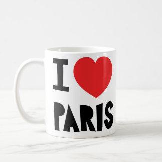 Amo París Taza
