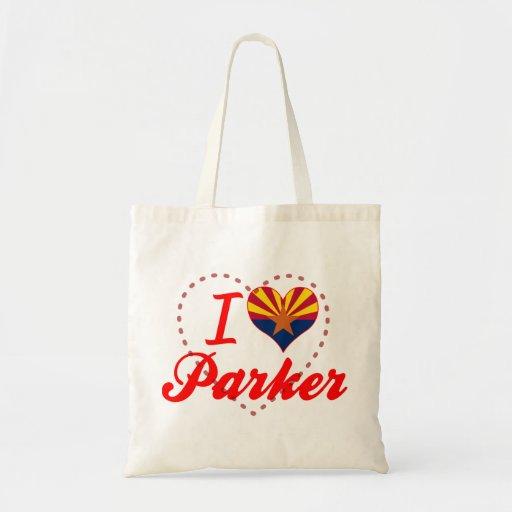 Amo Parker, Arizona Bolsa Tela Barata