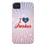 Amo Parker, Idaho iPhone 4 Case-Mate Funda