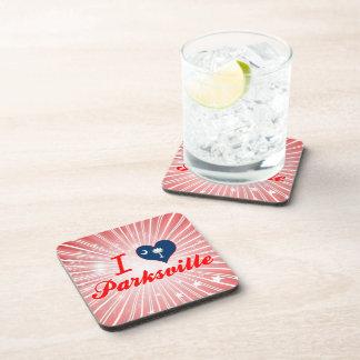 Amo Parksville, Carolina del Sur Posavasos De Bebidas