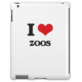 Amo parques zoológicos funda para iPad