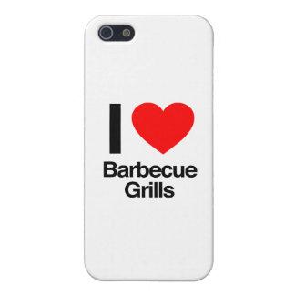 amo parrillas de la barbacoa iPhone 5 cobertura