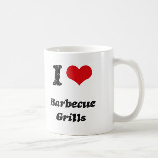 Amo PARRILLAS de la BARBACOA Taza De Café