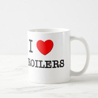 Amo parrillas taza de café