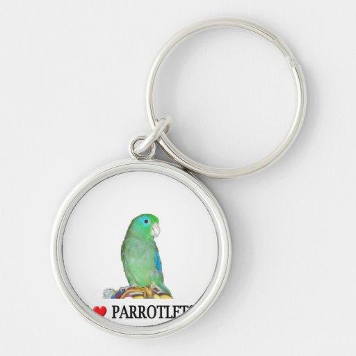 Amo parrotlets llaveros