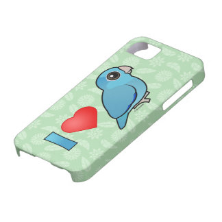 Amo Parrotlets pacífico (azul) Funda Para iPhone 5 Barely There