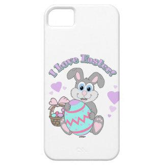 ¡Amo Pascua! Conejito de pascua Funda Para iPhone 5 Barely There