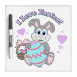 ¡Amo Pascua! Conejito de pascua Pizarras Blancas De Calidad