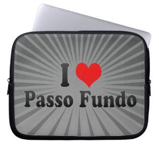 Amo Passo Fundo, el Brasil Mangas Computadora