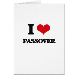 Amo Passover Tarjetón