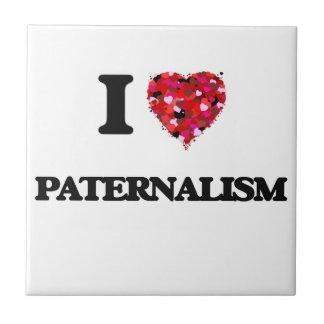 Amo paternalismo azulejo cuadrado pequeño