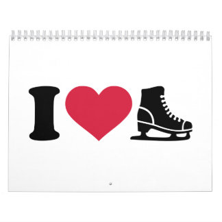 Amo patinaje artístico la velocidad del patín calendarios