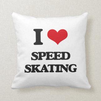 Amo patinaje de velocidad cojines