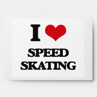 Amo patinaje de velocidad