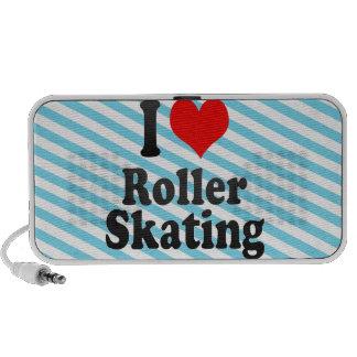 Amo patinaje sobre ruedas mp3 altavoz