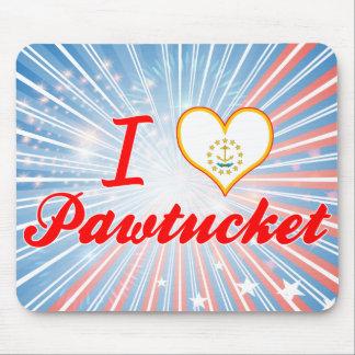 Amo Pawtucket, Rhode Island Alfombrillas De Raton