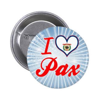 Amo Pax Virginia Occidental Pin