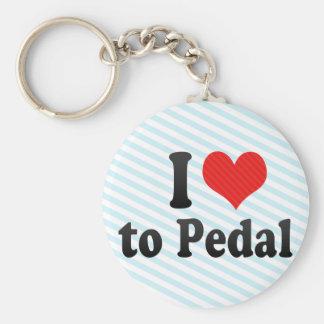 Amo Pedal Llaveros Personalizados