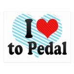 Amo Pedal Postales