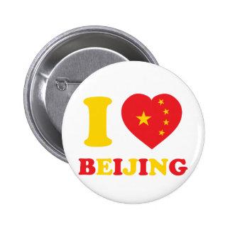 Amo Pekín Pin Redondo 5 Cm