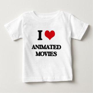 Amo películas animadas tee shirt