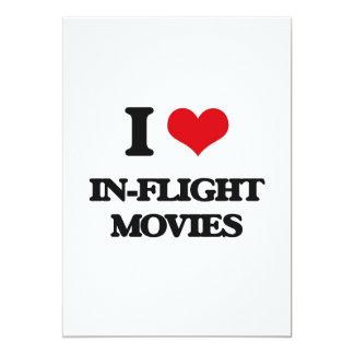 """Amo películas de aviones invitación 5"""" x 7"""""""