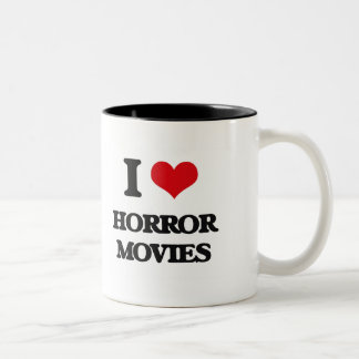 Amo películas de terror taza