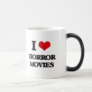 Amo películas de terror tazas