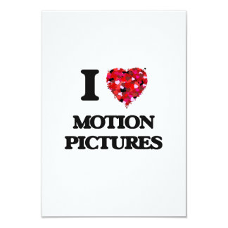 """Amo películas invitación 3.5"""" x 5"""""""