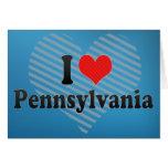 Amo Pennsylvania Felicitación