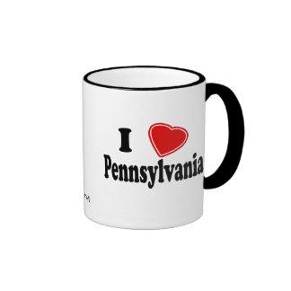Amo Pennsylvania Taza De Café