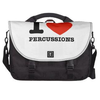 Amo percusiones bolsas para portátil