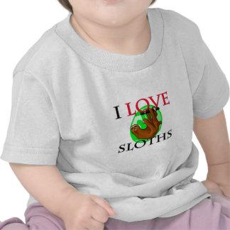 Amo perezas camiseta