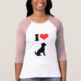 Amo perritos playera