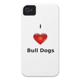 Amo perros del toro Case-Mate iPhone 4 carcasa