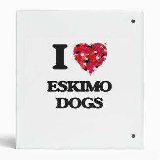 """Amo perros esquimales carpeta 1"""""""