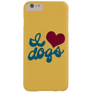 Amo perros funda para iPhone 6 plus barely there