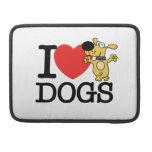 Amo perros fundas para macbooks