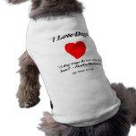 Amo perros ropa perro