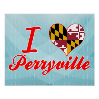 Amo Perryville, Maryland Poster