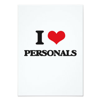 """Amo personal invitación 5"""" x 7"""""""