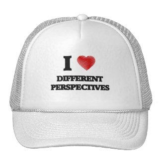 Amo perspectivas distintas gorras