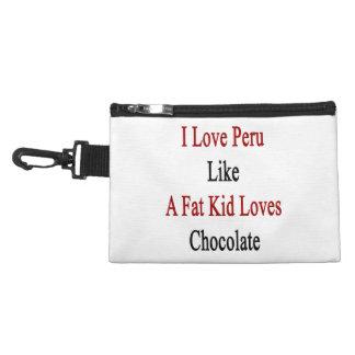 Amo Perú como un chocolate de los amores del niño