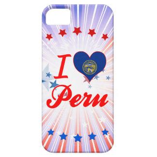 Amo Perú, Nebraska iPhone 5 Protectores