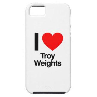 amo pesos troy funda para iPhone 5 tough