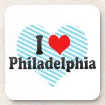 Amo Philadelphia, Estados Unidos Posavasos De Bebida