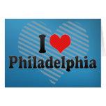 Amo Philadelphia Felicitacion